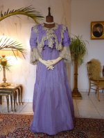 antique day dress, day dress 1902, antique evening dress, evening gown 1902, dress 1902, gown 1902, antique reception gown, reception gown 1902, abito antico, antik ruha