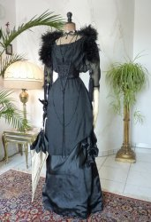 antique evening gown 1909