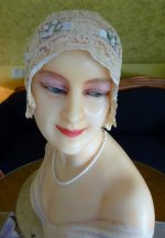 25 antique wax mannequin 1920