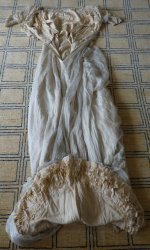 100 antique wedding gown