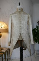 12 antique rococo wedding coat 1740
