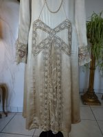 3 antique wedding dress 1920