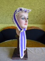 14 antique bonnet 1860