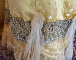 8a antique ball gown 1895