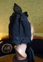 11 antique mourning bonnet