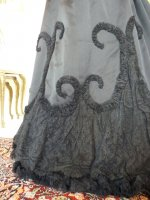 30 antique Worth evening dress 1898