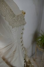 27 antique wedding dress 1878