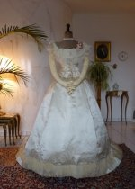 3a antique ballgown