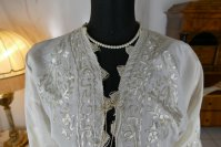 1 antique boudoir jacket 1910
