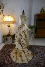 20 antique LEROUX Ball gown 1890