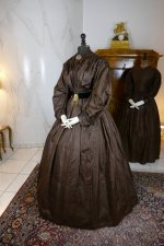 15 antique afternoon dress 1840