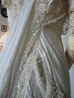 21 antique bridal gown