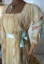 4 antique belle epoque negligee