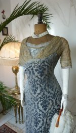 3 antique Ball gown 1909