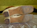 21 antique wedding shoes 1830