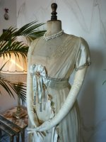3 antique WORTH Evening Gown 1906