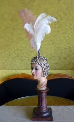 8 antique headpiece 1920