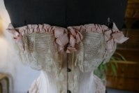 1 antique corset 1880