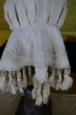 7 antique wedding bonnet 1870