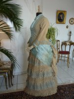 31 antique bustle dress 1884