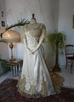 20 antique evening dress WORTH 1898
