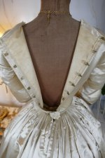 31 antique wedding dress 1845