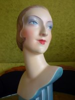7antique shop display mannequin 1927