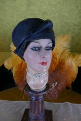 antique straw hat 1920s