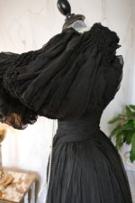 17 antique evening gown 1896