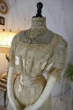 7 antique ball gown 1900