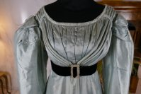 1 antique regency dress 1818