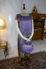 12 antique BABANI evening dress 1925