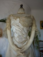 4 antique evening dress WORTH 1898