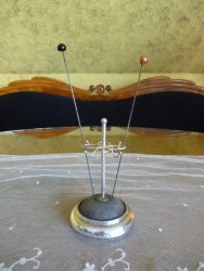 antique hat pin stand 1905