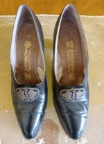 2 antique shoes Hellstern 1905