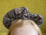 4 antique victorian bonnet 1895