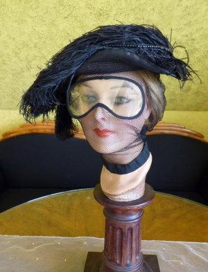 antique motoring glasses 1910