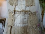 12 antique evening gown Henriette Tissier 1895