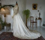 17 antique edwardian wedding dress 1909