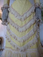 9 antique reception gown