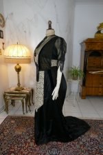 19 antique dinner dress Hamburg 1906