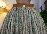 1 antique Biedermeier petticoat 1830