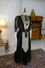 2 antique dinner dress Hamburg 1906
