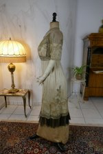 24 antique evening dress 1912