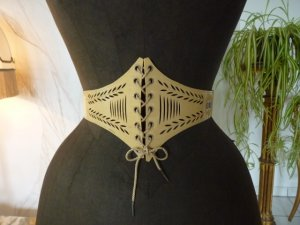 antique corset belt 1905