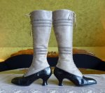 20 antique knee boots 1905