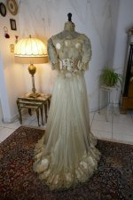 27 antique ball gown 1900