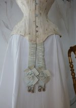 4 antique corset