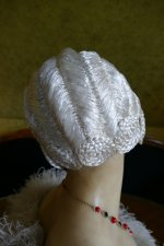 9 antique hair cloche 1920