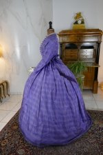 13 antique crinoline dress 1860